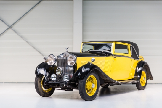 1934 Rolls-Royce 20/25HP Coupé by Barker